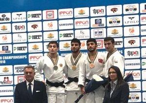 Cüdoçularımız Avropa birinciliyində 4 medal qazanıblar
