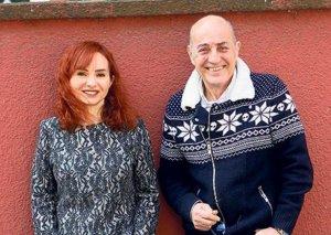 70 yaşlı Fuad sevgilisi ilə