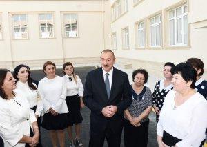 Prezident İlham Əliyev: Azərbaycanda təhsil sahəsində aparılan köklü islahatlar səmərə verir, təhsilin keyfiyyəti artır