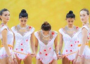 Beynəlxalq Gimnastika Federasiyasının bayrağı Azərbaycana təqdim edildi