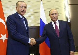 Putinlə Ərdoğanın görüşü başa çatıb