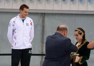 Azərbaycan üzgüçüsü dünya kubok yarışlarında qızıl medal qazanıb