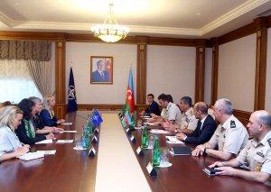 Zakir Həsənov NATO baş katibinin müavini ilə görüşüb