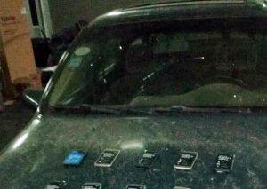 Gürcüstandan gələn Azərbaycan vətəndaşının avtomobilində gizlədilmiş mobil telefonlar aşkar olunub