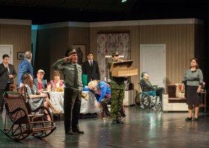 """Akademik Milli Dram Teatrında """"Sinif yoldaşları"""" tamaşasının premyerası olub"""