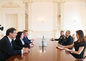 Prezident İlham Əliyev Bolqarıstanın Baş nazirinin müavininin başçılıq etdiyi nümayəndə heyətini qəbul edib