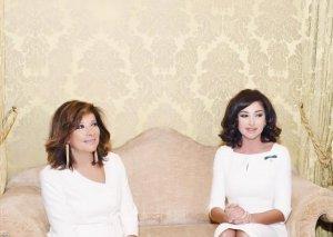 Azərbaycanın Birinci vitse-prezidenti Mehriban Əliyeva İtaliya Senatının sədri ilə görüşüb