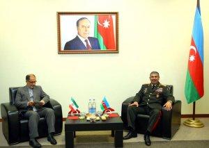 Azərbaycanla İran arasında hərbi əməkdaşlıq və regional təhlükəsizlik məsələləri müzakirə edilib