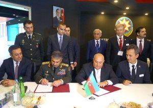 Müdafiə Nazirliyi ilə Müdafiə Sənayesi Nazirliyi arasında memorandum imzalanıb