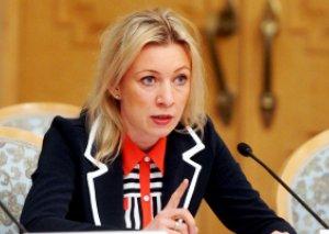 Zaxarova: Rusiya kütləvi qırğın silahları mövzusunda ABŞ ilə daha çox əməkdaşlıq etmək istərdi