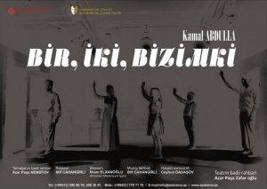 """Akademik Milli Dram Teatrında """"Bir, iki – bizimki!"""" tamaşası təqdim olunub"""