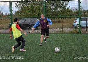 Marneulidə mini futbol çempionatı keçirilir