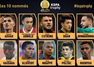 France Football Kopa mükafatı üçün namizədlərin siyahısını elan edib
