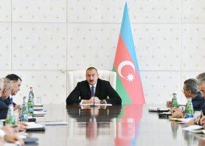 """Prezident İlham Əliyev: """"Azerspace-2"""" peykinin orbitə çıxarılması Azərbaycanın böyük qələbəsidir"""
