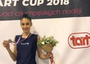 Gimnastımız beynəlxalq turnirdə gümüş medal qazanıb