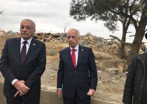 Hacıbala Abutalıbov: Badamdarda sürüşmə zonasındakı 11 ev söküləcək
