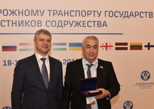 Cavid Qurbanov Moskvada medalla təltif olunub