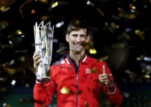 """Serbiyalı tennisçi Novak Cokoviç """"Shanghai Rolex Masters""""in çempionudur"""