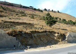 Badamdarda sürüşmə zonasında SON VƏZİYYƏT