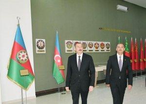 Prezident İlham Əliyev İmişlidə Bayraq Muzeyinin açılışında iştirak edib