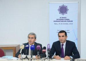 VI Bakı Beynəlxalq Humanitar Forumunun proqramı açıqlanıb
