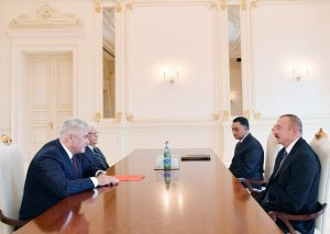 Prezident İlham Əliyev Rusiyanın daxili işlər nazirinin başçılıq etdiyi nümayəndə heyətini qəbul edib