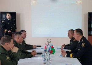 Bakıda Azərbaycan və Belarus hərbi topoqraflarının görüşü keçirilib
