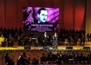 """Heydər Əliyev Sarayında """"Estrada mahnısı"""" müsabiqəsinin qaliblərinin qala konserti olub"""