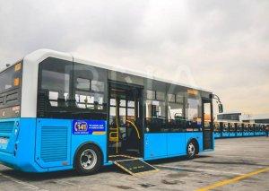 Bakıda 160 nömrəli marşrut xətti üzrə yeni avtobuslar xidmət göstərəcək