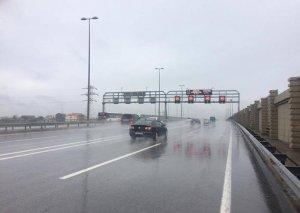 Heydər Əliyev prospekti-Hava Limanı avtomobil yolunda sürət həddi azaldıldı