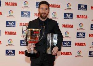 Messi mükafatlandırıldı