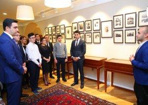 Mir Cəlal Paşayevin ev müzeyi ziyarət edilib
