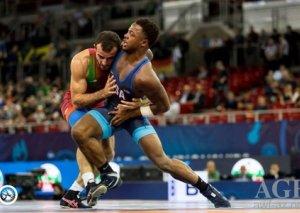 Azərbaycanın daha 3 güləşçisi dünya çempionatında medal qazanıb