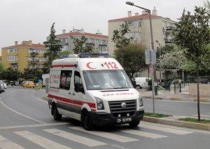Sivasda hərbçiləri aparan avtobus aşıb