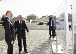 Prezident İlham Əliyev Sumqayıt Dəmir Yolu Vağzalı Kompleksinin açılışında iştirak edib