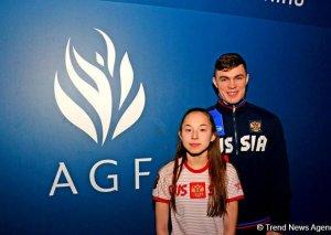 Rusiyalı gimnast: Bakıda Milli Gimnastika Arenasından çox xoşum gəldi