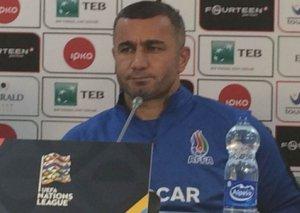 """Qurban Qurbanov: """"Kosovo ilə oyunda maksimum hücumda çıxış etməyə çalışacağıq"""""""