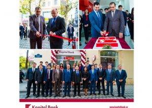 Kapital Bank 24/7 rejimdə işləyən Sahil filialını istifadəyə verdi