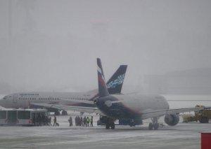 Şeremetyevo hava limanının uçuş-eniş zolağında kişi meyiti tapılıb