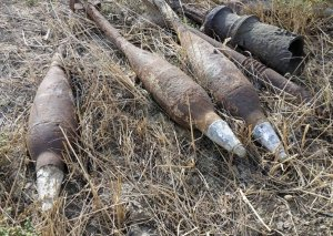Sumqayıt Texnologiyalar Parkının ərazisində 7 top mərmisi tapılıb