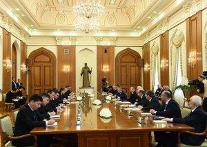Qurbanqulu Berdiməhəmmədov: Türkmənistan və Azərbaycan həm də regional səviyyədə beynəlxalq enerji bazarlarına birgə çıxa bilər