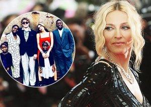Madonna 6 övladının fotosunu paylaşıb şükr etdi