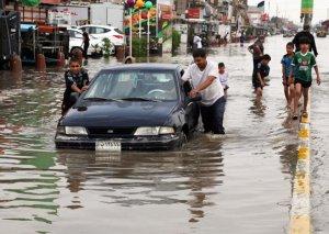 İraqda daşqınlar 21 nəfərin ölümünə səbəb olub
