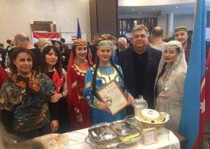 Azərbaycan mətbəxi Belarusda nümayiş olunub