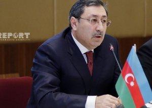 """Xələf Xələfov: """"Azərbaycan enerji tranziti potensialını başqa ölkələrə açmağa hazırdır"""""""