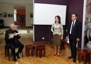 Xalq artisti Gülxar Həsənovanın xatirəsi yad olunub