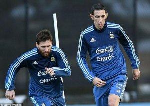 """""""Messi başını divara vurmağa başladı"""" – Di Mariya"""