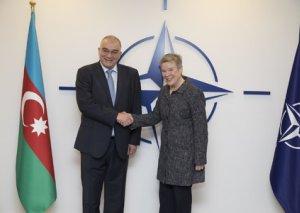 Azərbaycan ilə NATO arasında əməkdaşlığın perspektivləri müzakirə olunub