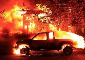 Kaliforniyada meşə yanğınlarından sonra 11 nəfər itkin düşüb