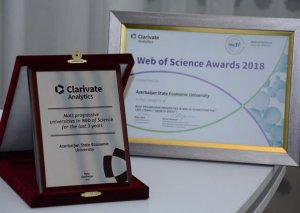UNEC Web of Science üzrə son 3 ildə ölkənin ən inkişaf etmiş universiteti seçilib
